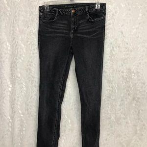 Zara Trafaluc Denimwear size 10 black skinny